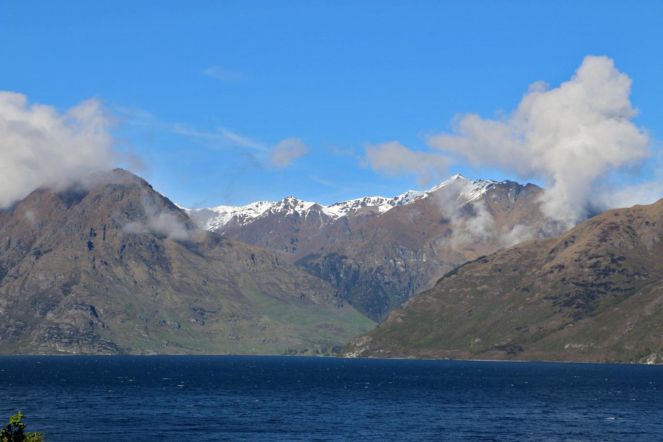 Toujours le lac Wakatipu.