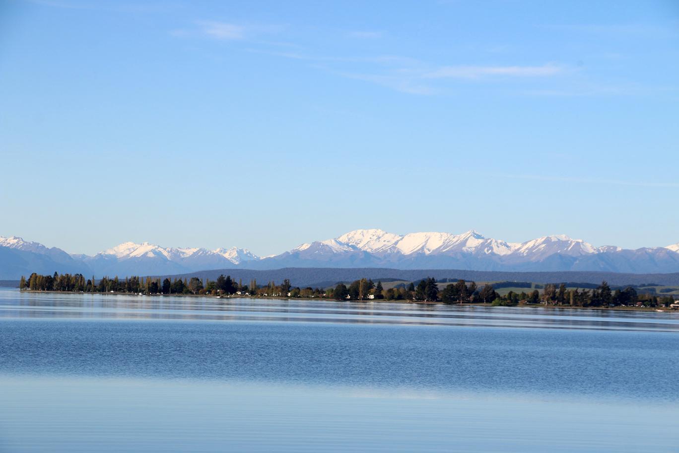 Et les montagnes au loin...