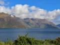 Le lac Wakatipu, qui borde Queenstown...